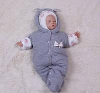 Теплый человечек для малышей Мася (0-9 мес)
