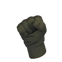 Перчатки вязаные Thinsulate олива, фото 3