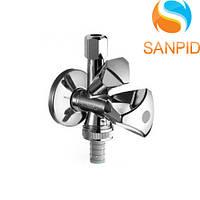 Вентиль комбинированный Schell Sandland 1/2, хром