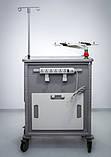 Передвижная тележка с тумбочкой для анестезиолога. Herman Miller Ct 142 Emergency Cart, фото 9