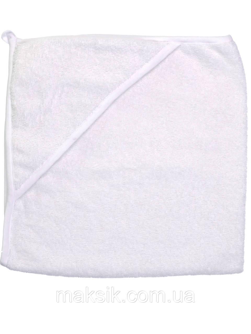 Детское полотенце-уголок  для купания