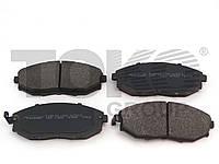 Колодки тормозные дисковые на SSANGYONG MUSSO, KORANDO