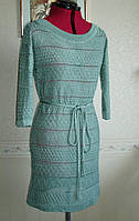 Вязаное летнее платье шелковое