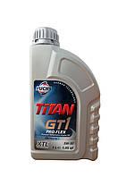 FUCHS TITAN GT1 5W40 XTL - моторное масло синтетика - 1 литр.
