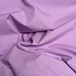 Ткань однотонная хлопковая Mist сиреневого цвета № 072