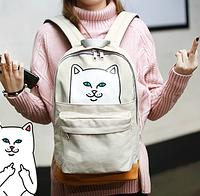 Крутой рюкзак с котом