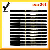 Карандаши для Глаз Черные Матовые Косметические Golden Rose №301, Оптом