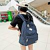 Рюкзак городской в горох, фото 2