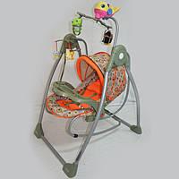 Шезлонг-качалка 2в1 RB-782 Оранж