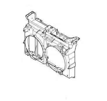 Передняя панель Citroen Jumpy, Peugeot Expert, Fiat Scudo 06- 1497799080