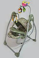 Шезлонг-качалка 2в1 электрическая RB-782.