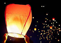 """Небесный фонарик """"Красный купол"""""""