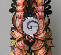 Свечи с логотипом в корпоративных цветах Бренда на заказ от производителя ELITE CANDLES