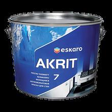 Akrit 7 9,5 л - матова фарба для стін і стель