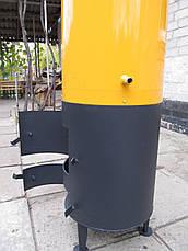 Водонагреватель-титан на дровах 80 л (под специальный смеситель), фото 2