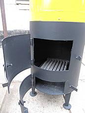 Водонагреватель-титан на дровах 80 л (под специальный смеситель), фото 3