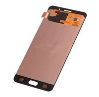 Тач (сенсор) + матрица Samsung Galaxy A7 2016 Duos (SM-A710) белый  модуль