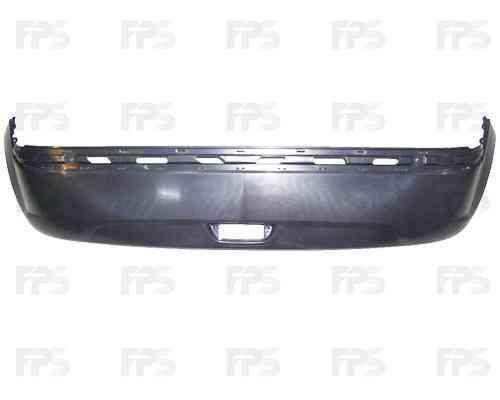 Бампер задний Hyundai Getz 05-11, нижняя часть (FPS) 866111C300