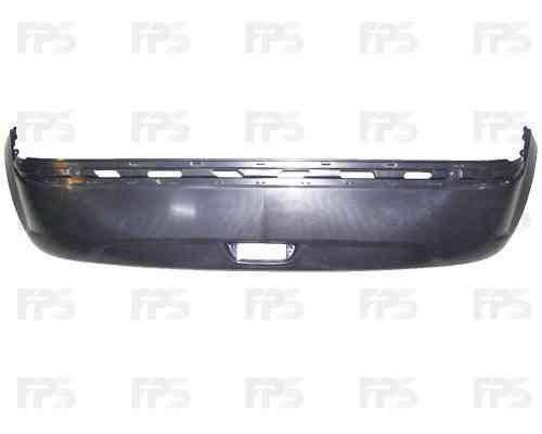 Бампер задний Hyundai Getz 05-11, нижняя часть (FPS) 866111C300, фото 2