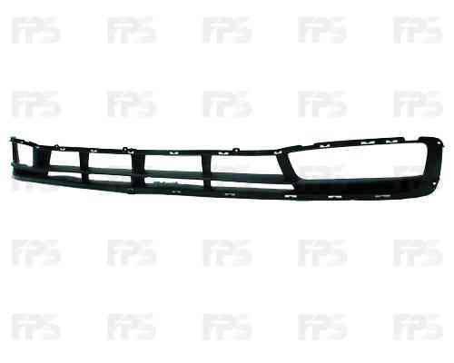 Решетка бампера Hyundai Accent 06-10 под ПТФ (FPS), фото 2