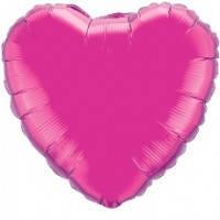 Шар наполненный гелием фольга Сердце