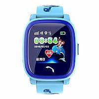 Детские умные gps часы Водонипроницаемые Smart baby watch DF25(ip67) blue, фото 3
