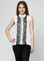 7866 Блуза женская белая: imprezz.com.ua