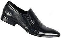 """Туфли мужские """"Faro"""". Черные. Натуральная кожа"""
