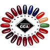 Полный набор для гель лака GGA Professional с гибридной лампой Суперцена!, фото 6