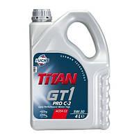 FUCHS TITAN GT1 PRO C-2 5W-30 - моторное масло синтетика - 4 литра.