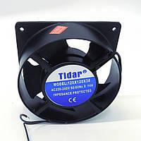 Вентилятор 220 V 120x38 (0.14A/23W)