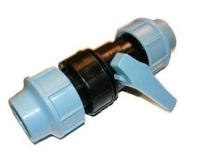 Кран компрессионный 50 Unidelta