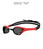 Очки для плавания премиум класса Arena Cobra Ultra (Smoke/Red), фото 1