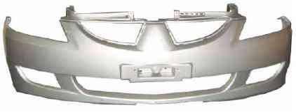 Передний бампер Mitsubishi Lancer 9 04-06 (FPS) MN161297WA, фото 2