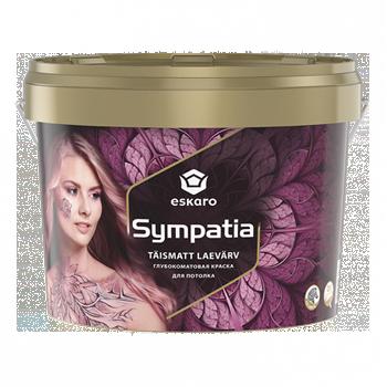 Sympatia 9,5л - Глубокоматовая краска для потолков