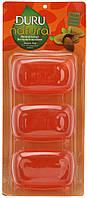 Косметическое мыло Duru Natural Almond Extract  Экстракт миндаля 3х100г