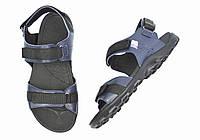 Синие мужские кожаные сандалии SAV на лето ( новинки )