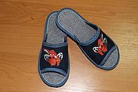 Детские тапочки для девочки Белста с открытым носочком Пушок р-р 29-34