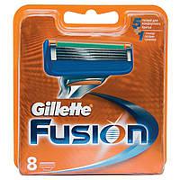 "Запасные насадки ""Gillette Fusion"" за 1 шт.Оригинал!"