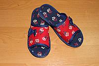 Детские тапочки для девочки Белста с открытым носочком Пушок р-р 30, 31, 32