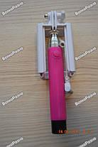 Монопод, палка для селфи розового цвета, фото 2