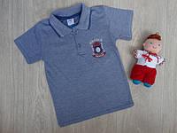 """Футболка-поло """"New Season"""" для мальчика синяя р.116-140"""