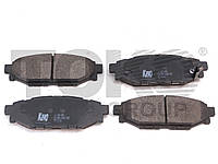 Колодки тормозные дисковые на SUBARU FORESTER, OUTBACK, IMPREZA, XV, LEGACY
