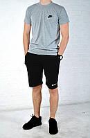 Мужской костюм шорты и футболка  найк (Nike)