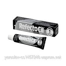 Краска для бровей и ресниц Refectocil №1, черная