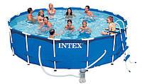 Круглый каркасный бассейн Intex 457х107 см (28234)