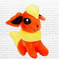 Детская мягкая игрушка, покемон Иви, оранжевый