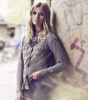 Блуза-рубашка джинсовая Германия