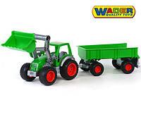 Трактор погрузчик с прицепом Wader 8817