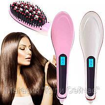 Расческа выпрямитель Fast Hair 906 с Led дисплеем, фото 3